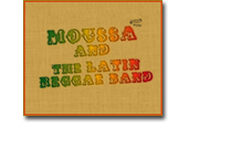 Moussa and the latin reggae band